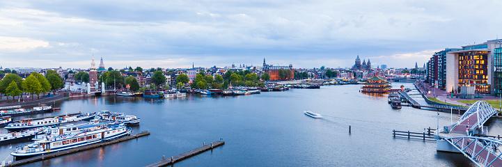 Amsterdam「Netherlands, Amsterdam, view to port」:スマホ壁紙(14)