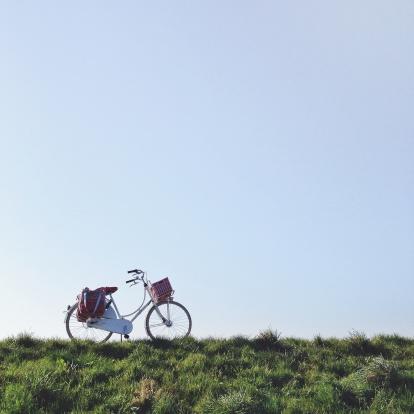 Auto Post Production Filter「Netherlands, Blaricum, Dutch bike」:スマホ壁紙(8)