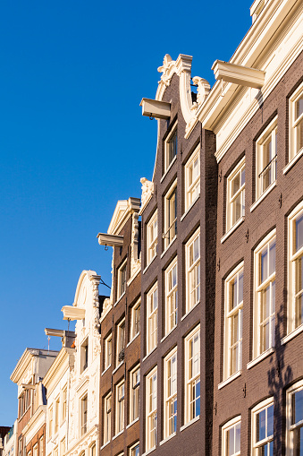 Amsterdam「Netherlands, Amsterdam, row of canal houses at Prinsengracht」:スマホ壁紙(3)