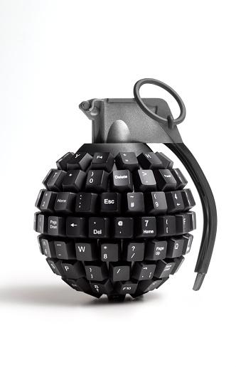 Dishonesty「Computer keyboard hand grenade」:スマホ壁紙(1)