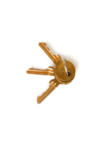 House Key「Set of keys over white background」:スマホ壁紙(3)