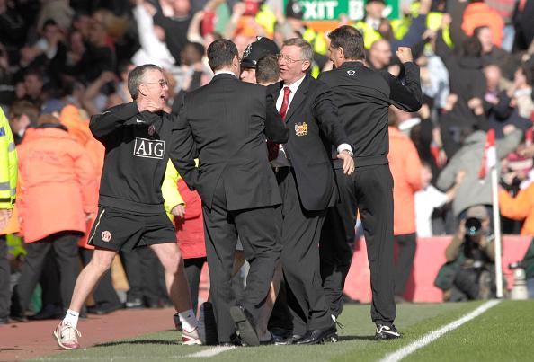David Ashdown「Liverpool v Manchester United Premiership Football 2007」:写真・画像(13)[壁紙.com]