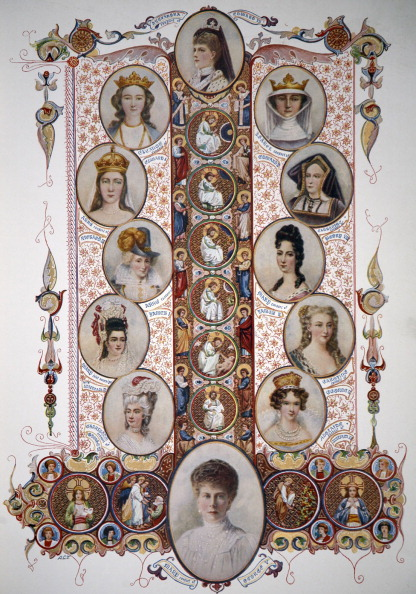 Alexandra Queen「Royal consorts (wives) of British Kings up until 1910.」:写真・画像(0)[壁紙.com]