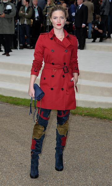 ロンドンファッションウィーク「Burberry Prorsum - Arrivals - LFW SS16」:写真・画像(5)[壁紙.com]