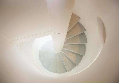 螺旋形「Spiral staircase」:スマホ壁紙(19)