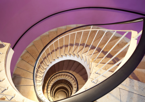 Baluster「spiral staircase」:スマホ壁紙(6)