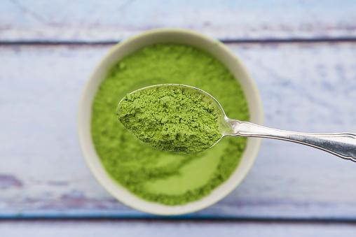 Algae「Bowl of chlorella powder」:スマホ壁紙(4)