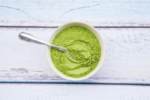 Algae「Bowl of chlorella powder」:スマホ壁紙(6)