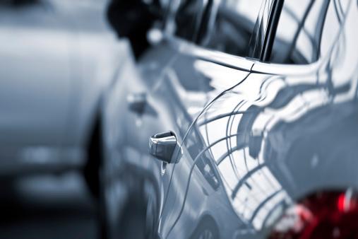 Toned Image「Luxury car at public dealership」:スマホ壁紙(1)