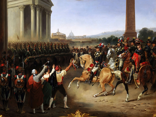 Painted Image「Entry Of The French Army In Rome」:写真・画像(2)[壁紙.com]