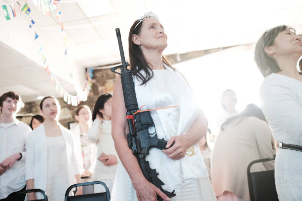 Church「World Peace And Unification Sanctuary Religious Group Holds Blessing Ceremony For Couples And Their AR-15 Rifles」:写真・画像(14)[壁紙.com]