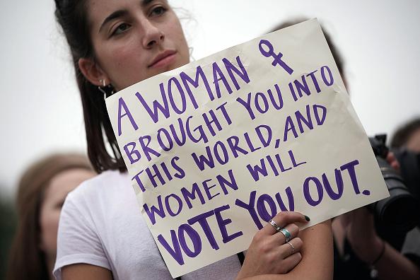 抗議者「Senate Votes On Confirmation Of Brett Kavanaugh To The Supreme Court」:写真・画像(17)[壁紙.com]
