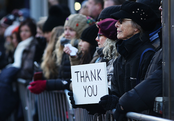 Gratitude「Veterans Day Parade Held On New York's 5th Avenue」:写真・画像(0)[壁紙.com]