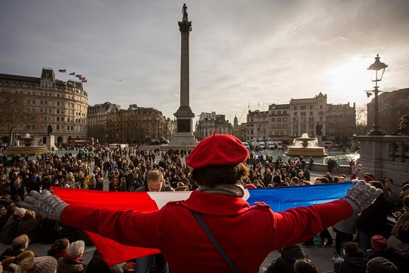 2015 Republican Marches「Mass Unity Rallies Held Around The World Following Recent Terrorist Attacks」:写真・画像(8)[壁紙.com]
