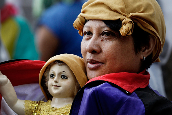 Religious Mass「Pope Francis Visits Philippines - Day 4」:写真・画像(1)[壁紙.com]
