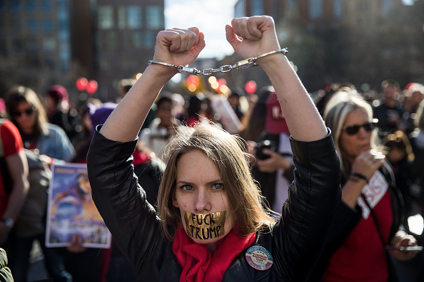 USA「International Women's Day Marked With Rallies And Protests Across The Country」:写真・画像(15)[壁紙.com]