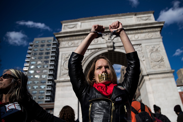 Cuff「International Women's Day Marked With Rallies And Protests Across The Country」:写真・画像(17)[壁紙.com]