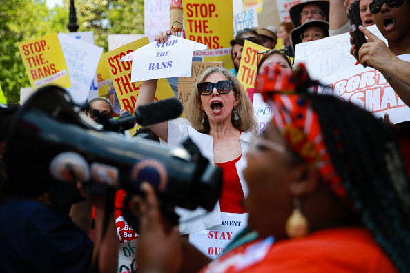 Georgia - US State「Rallies Across U.S. Protest New Restrictive Abortion Laws」:写真・画像(1)[壁紙.com]