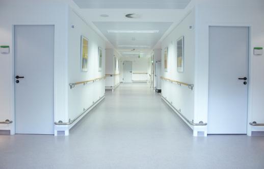 Emergency Services Occupation「Floor in a hospital」:スマホ壁紙(10)