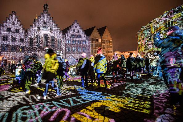Economy「Luminale Festival Illuminates Frankfurt Buildings」:写真・画像(4)[壁紙.com]