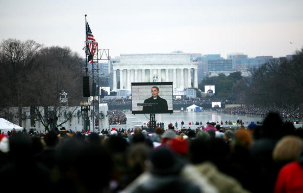 """Robert Nickelsberg「""""We Are One: The Obama Inaugural Celebration At The Lincoln Memorial""""」:写真・画像(13)[壁紙.com]"""
