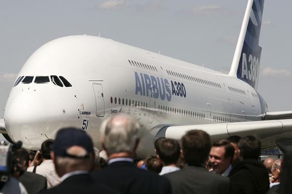 Airbus A380「Paris Air Show At Le Bourget」:写真・画像(15)[壁紙.com]