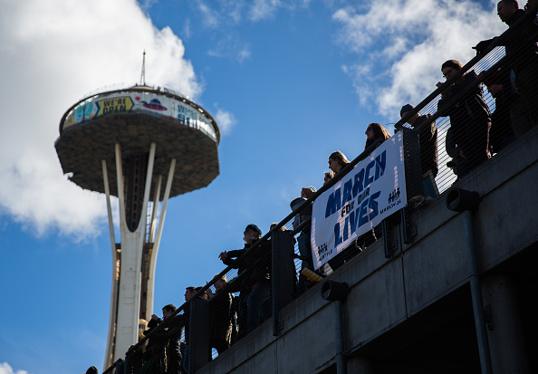 Space Needle「Thousands Join March For Our Lives Events Across US For School Safety From Guns」:写真・画像(14)[壁紙.com]