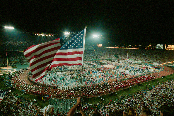 Opening Ceremony「XXVI Olympic Summer Games」:写真・画像(11)[壁紙.com]