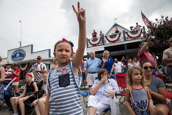 Event「4th Of July Parade Held In Round Top, Texas」:写真・画像(16)[壁紙.com]