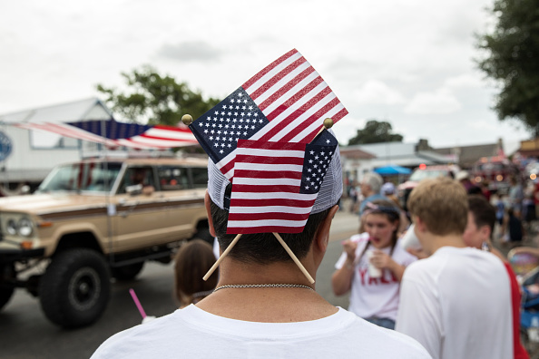 Fourth of July「4th Of July Parade Held In Round Top, Texas」:写真・画像(7)[壁紙.com]