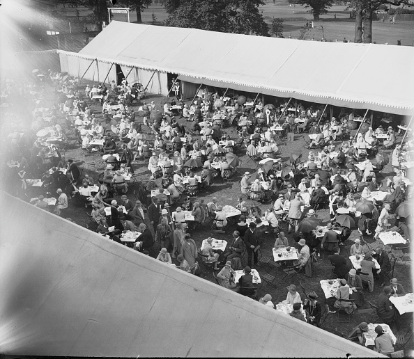 1926「Tea At Wimbledon」:写真・画像(18)[壁紙.com]