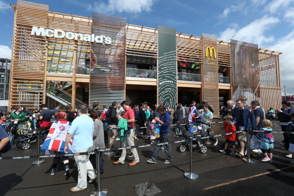 2012 Summer Olympics - London「McDonald's At London 2012 XXX Olympic Games - Day 7」:写真・画像(3)[壁紙.com]