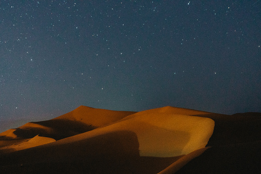 Constellation「Desert at night」:スマホ壁紙(16)