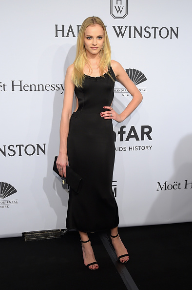 Ankle Strap Shoe「2015 amfAR New York Gala - Arrivals」:写真・画像(19)[壁紙.com]