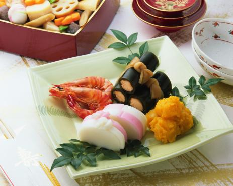 日本食「Japanese New Year Dishes」:スマホ壁紙(7)