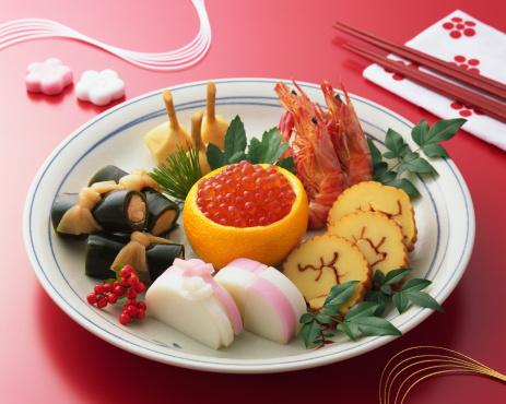 おせち「Japanese New Year Dishes」:スマホ壁紙(16)