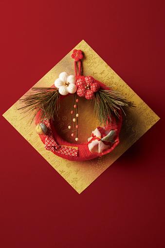 New Year「Japanese New Years wreath decoration」:スマホ壁紙(17)