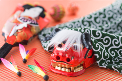 New Year「Japanese new year's toy」:スマホ壁紙(15)