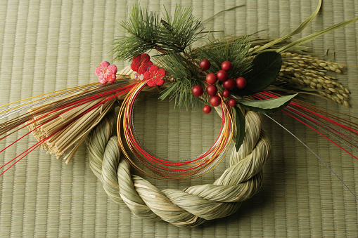 New Year「Japanese New Year wreath」:スマホ壁紙(16)