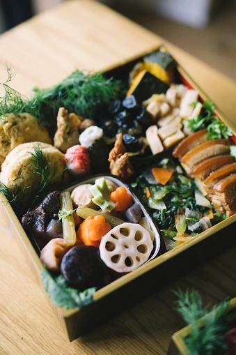 おせち「日本のお正月食 おえちり」:スマホ壁紙(10)