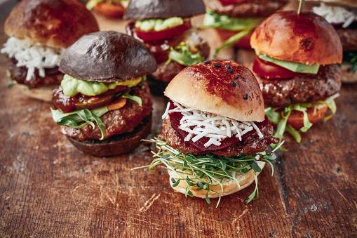 Slider - Burger「Tasty Mini Burgers」:スマホ壁紙(19)