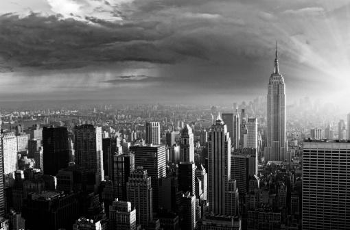ミッドタウンマンハッタン「の街並み、ニューヨークます。」:スマホ壁紙(19)