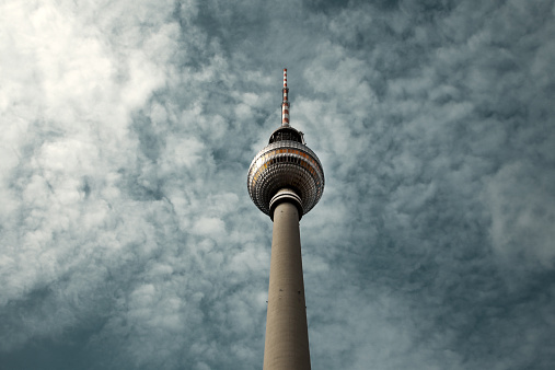 Overcast「Berlin's TV Tower against a cloudy sky」:スマホ壁紙(17)