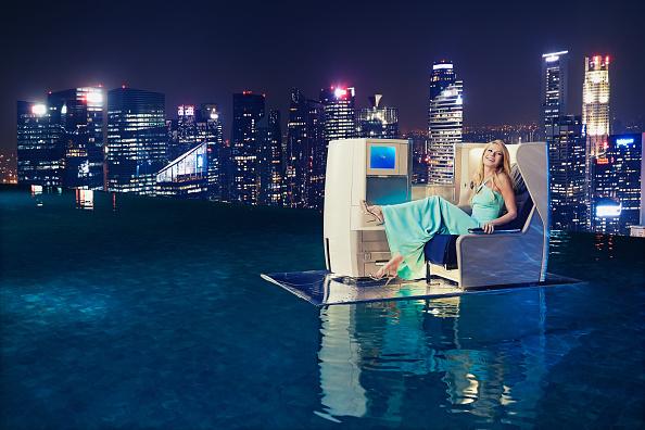 Infinity Pool「Gwyneth Paltrow Launches British Airways' A380 To Singapore」:写真・画像(0)[壁紙.com]