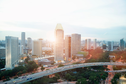 Elevated Road「Singapore cityscape」:スマホ壁紙(11)