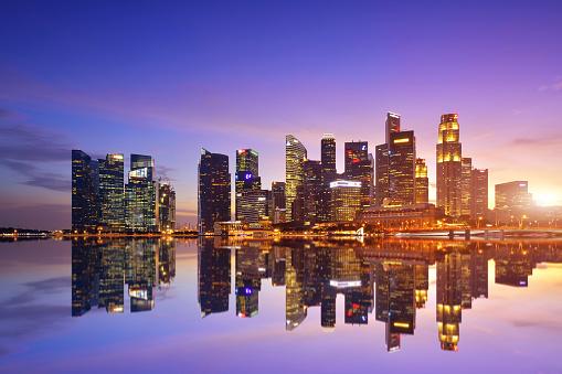 ファイナンス「シンガポールの街並み」:スマホ壁紙(5)