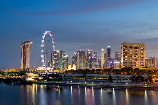 モータースポーツ「Singapore City View」:スマホ壁紙(7)