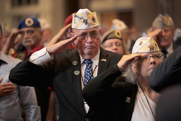 Veteran「President Trump Addresses American Veterans 75th National Convention」:写真・画像(10)[壁紙.com]