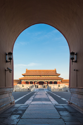 UNESCO World Heritage Site「Forbidden City Gate」:スマホ壁紙(15)