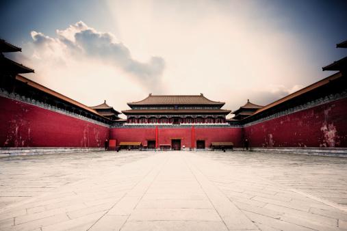 Temple「Forbidden city entrance」:スマホ壁紙(14)